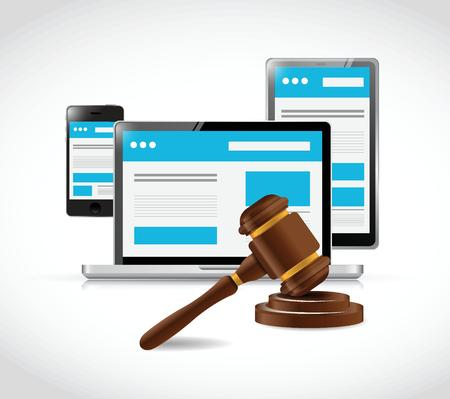 laptop internet law